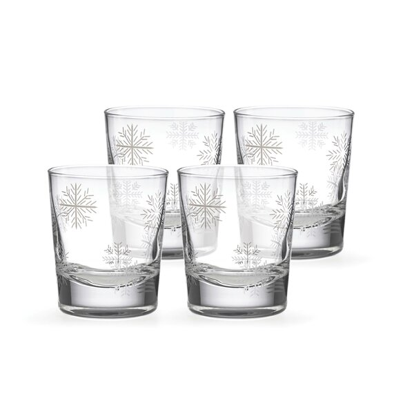 Alpine Double Old Fashioned Glass Cocktail Glass (Set of 4) by Lenox