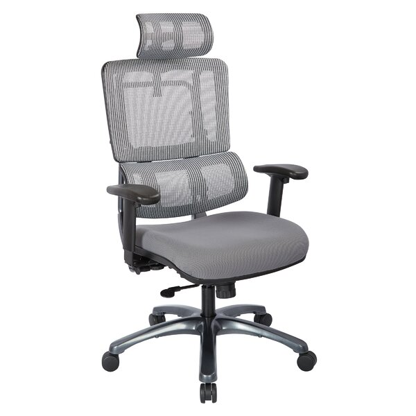 Pierro Contemporary Ergonomic Mesh Executive Chair by Latitude Run
