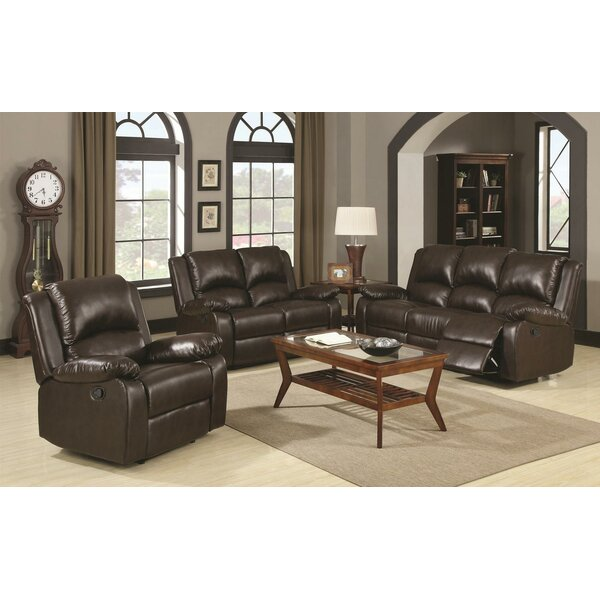 Review Nyquist Motion 3 Piece Reclining Living Room Set