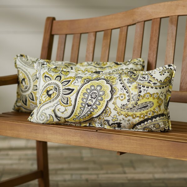 Agawam Outdoor Lumbar Pillow (Set of 2) by Darby Home Co