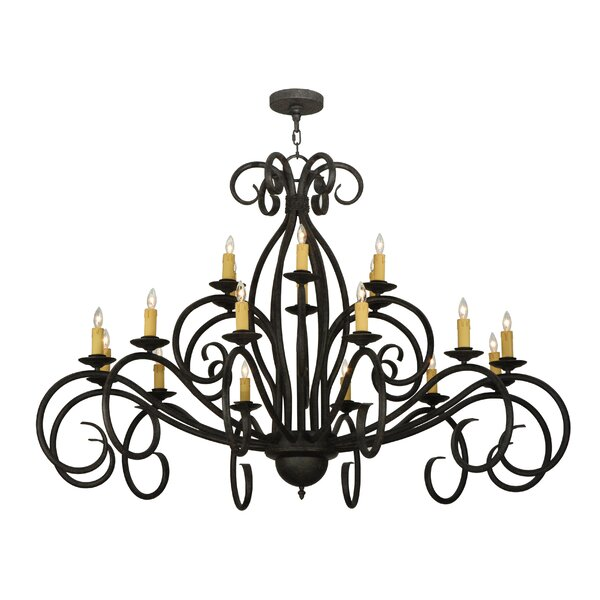Wareham 18 - Light Candle Style Classic Chandelier By Astoria Grand