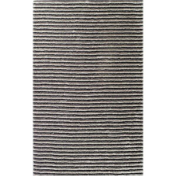 Thomas Machine-Woven Black/White Outdoor Area Rug by OceanBridge