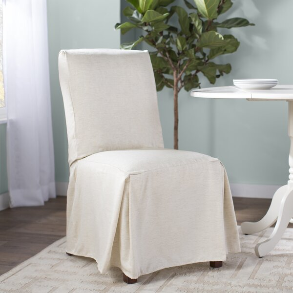 Box Cushion Dining Chair Slipcover By Ophelia & Co.
