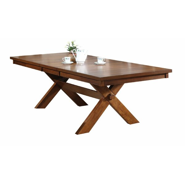 Hayley Extendable Dining Table by Loon Peak
