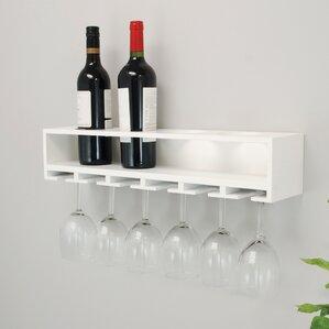 Claret Wall Mounted Wine Bottle Rack by nexxt Design