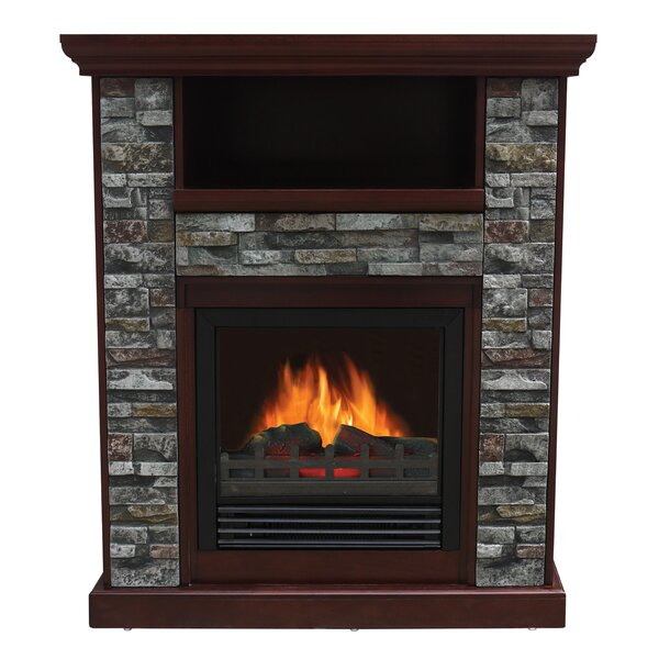 Santino Electric Fireplace by Loon Peak