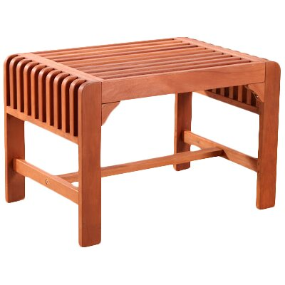 Wondrous Delaplaine Backless Wood Picnic Bench Gamerscity Chair Design For Home Gamerscityorg
