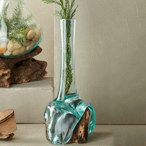 Blown Table Vase by VivaTerra