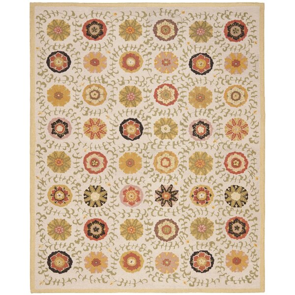 Ross Ivory Area Rug by Winston Porter