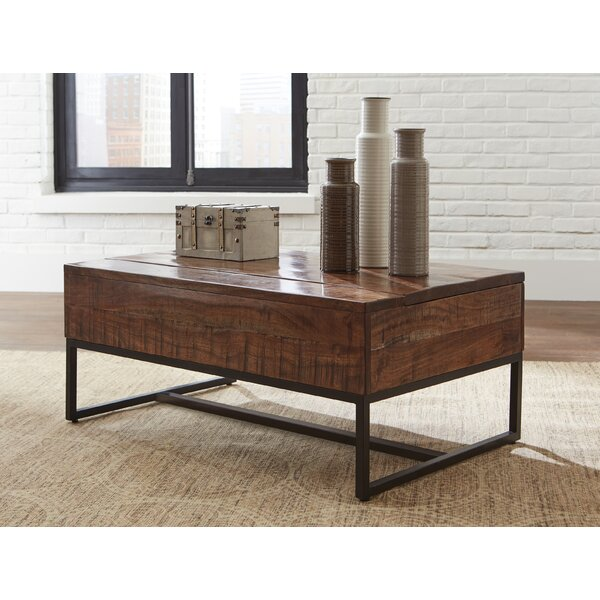 Itzel Lift Top Coffee Table with Storage by Modern Rustic Interiors