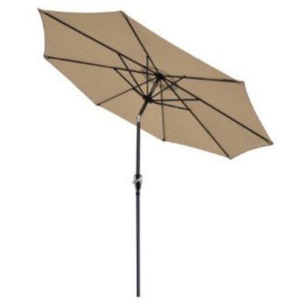 Perino Hand-Cranking Waterproof Folding Sunshade Beach Umbrella by Winston Porter