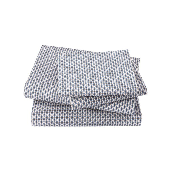 Savile Marine Sheet Set by DwellStudio