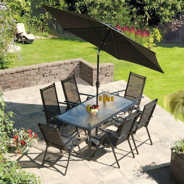 Capri 8 Piece Dining Set by SunTime Outdoor Living