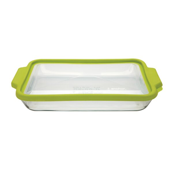 Anchor Rectangular TrueFit Baking Dish with Cover by Anchor