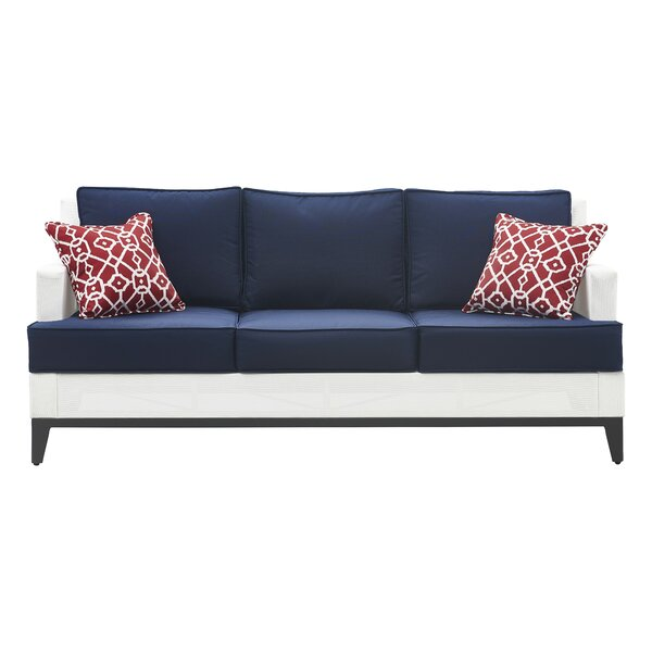 Hampton Patio Sofa with Cushions by Tommy Hilfiger Tommy Hilfiger