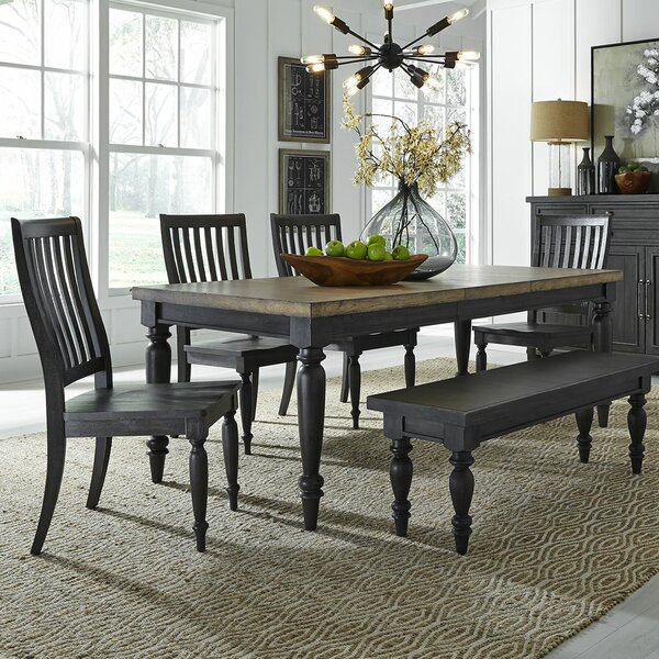 Zachariah 6 Piece Extendable Dining Set by Alcott Hill