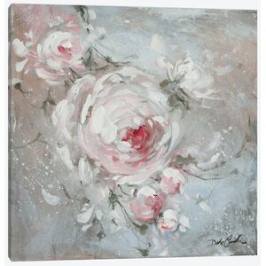 Blush I Painting Print on Wrapped Canvas by East Urban Home