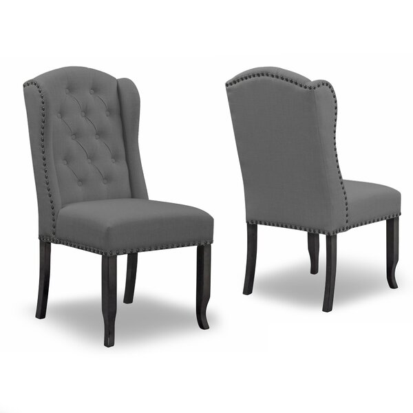 Chevaliers Upholstered Dining Chair (Set of 2) by Darby Home Co
