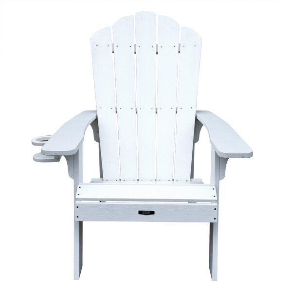 Retreat Plastic Adirondack Chair by Island Umbrella