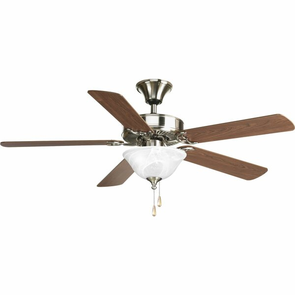 52 Scotty 5 Blade Steel Ceiling Fan Light Kit Included [Red Barrel Studio]