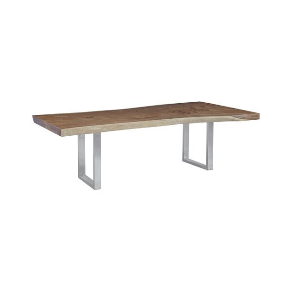 Origins Chamcha Wood Dining Table By Phillips Collection