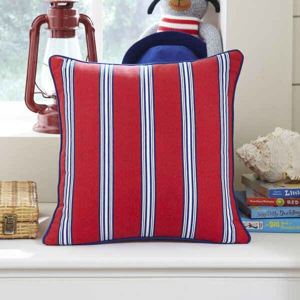 Nautical Stripe Pillow Cover by Birch Lane Kids™