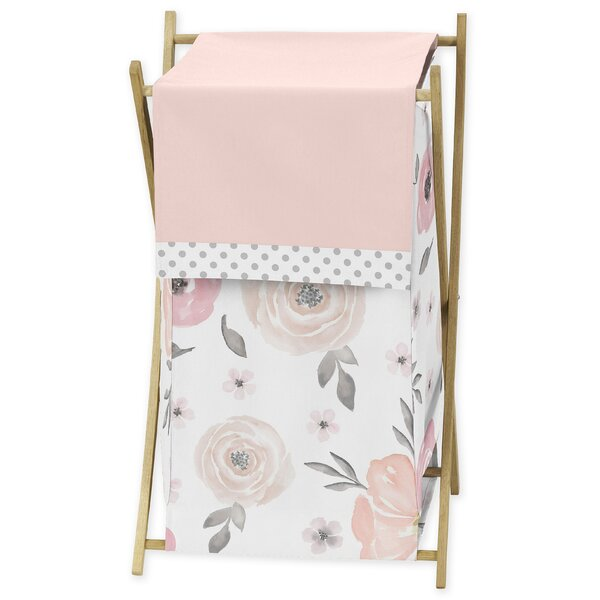 Floral Laundry Hamper by Sweet Jojo Designs