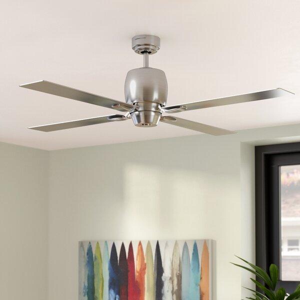 46 Oakmont 4 Blade Ceiling Fan by Wade Logan