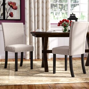 Claret Upholstered Dining Chair (Set of 2)