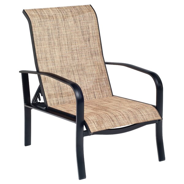 Fremont Sling Adjustable Patio Chair by Woodard