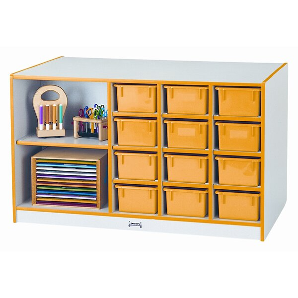 Island 14 Compartment Cubby by Jonti-Craft