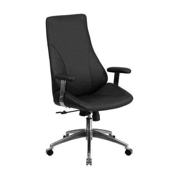 Creamer High Back Swivel Executive Chair by Ebern Designs