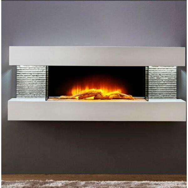 Marrero 2 Wall Mounted Electric Fireplace by Orren Ellis