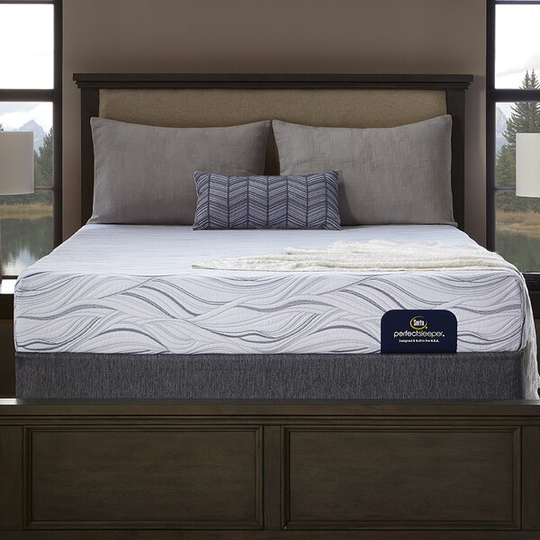 Perfect Sleeper 9 Medium Memory Foam Mattress and Box Spring by Serta