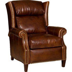 Broderick Leather Recliner by Bradington-Young