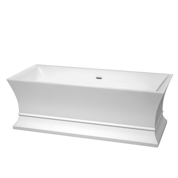 Jamie 67 x 30 Soaking Bathtub by Wyndham Collection