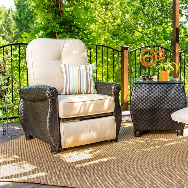 Breckenridge Recliner Patio Chair with Cushion by La-Z-Boy Outdoor
