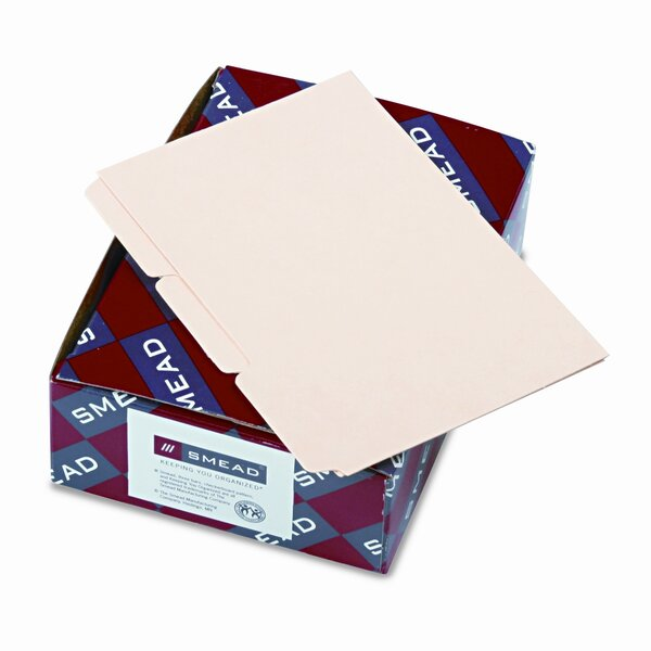 Self-Tab Card Guides, Blank, 100/Box by Smead Manufacturing Company