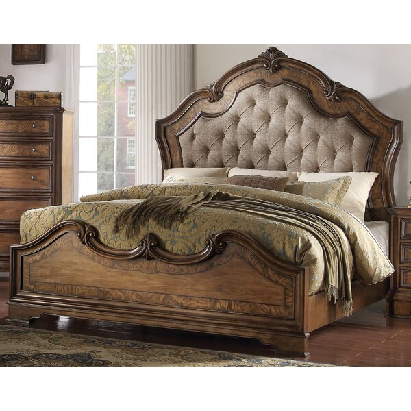 Bianca Upholstered Panel Bed by Astoria Grand