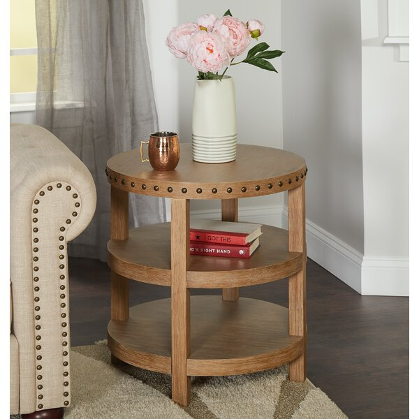 Sansa End Table by Gracie Oaks