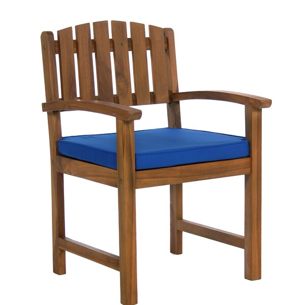 Fagan Rectangle 7 Piece Teak Dining Set with Cushions by Breakwater Bay