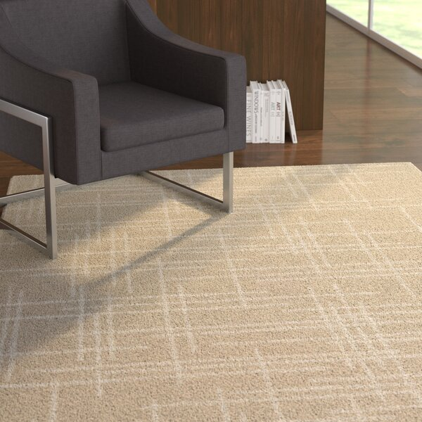Corazon Hand-Woven Linen Area Rug by Ebern Designs