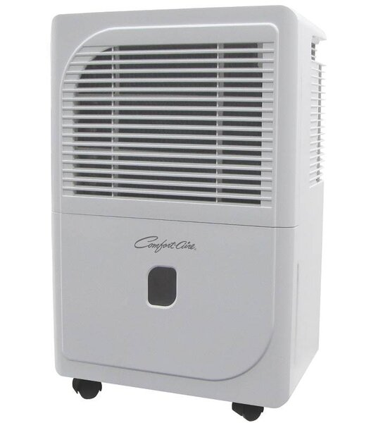 E-Star 50 Pint Dehumidifier with Casters by Heat Controller