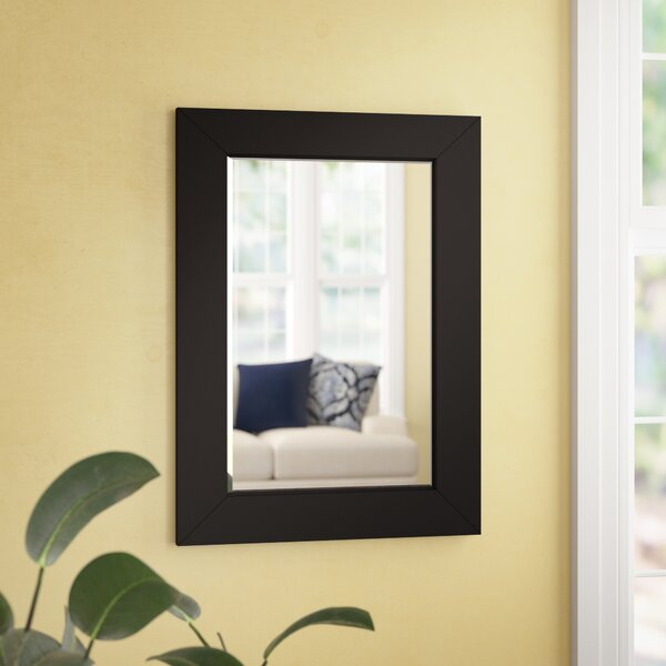 Lyndhurst Rectangle Wall Mirror by Three Posts