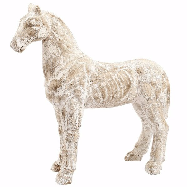 Paxson Rustically Charmed Magnesium Horse Figurine by Union Rustic