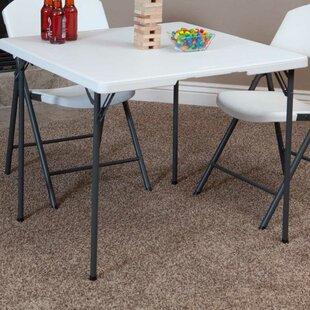 Great 36 Inch High Folding Table   Wayfair
