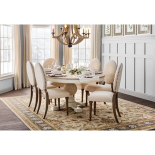 Antonie Oval Upholstered Dining Chair (Set of 2)