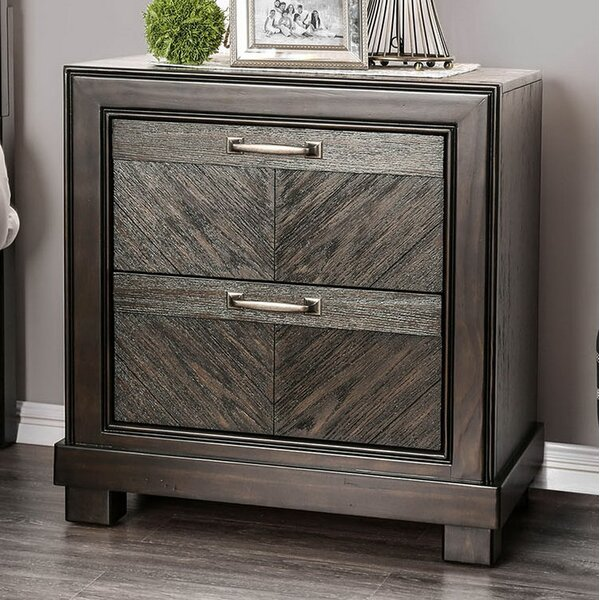Ridgway 2 Drawer Nightstand by Gracie Oaks