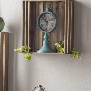 Traditional Metal Tabletop Clock