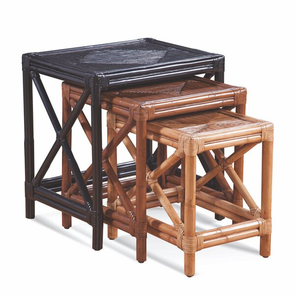 Montgomery 3 Piece Nesting Tables by Braxton Culler Braxton Culler
